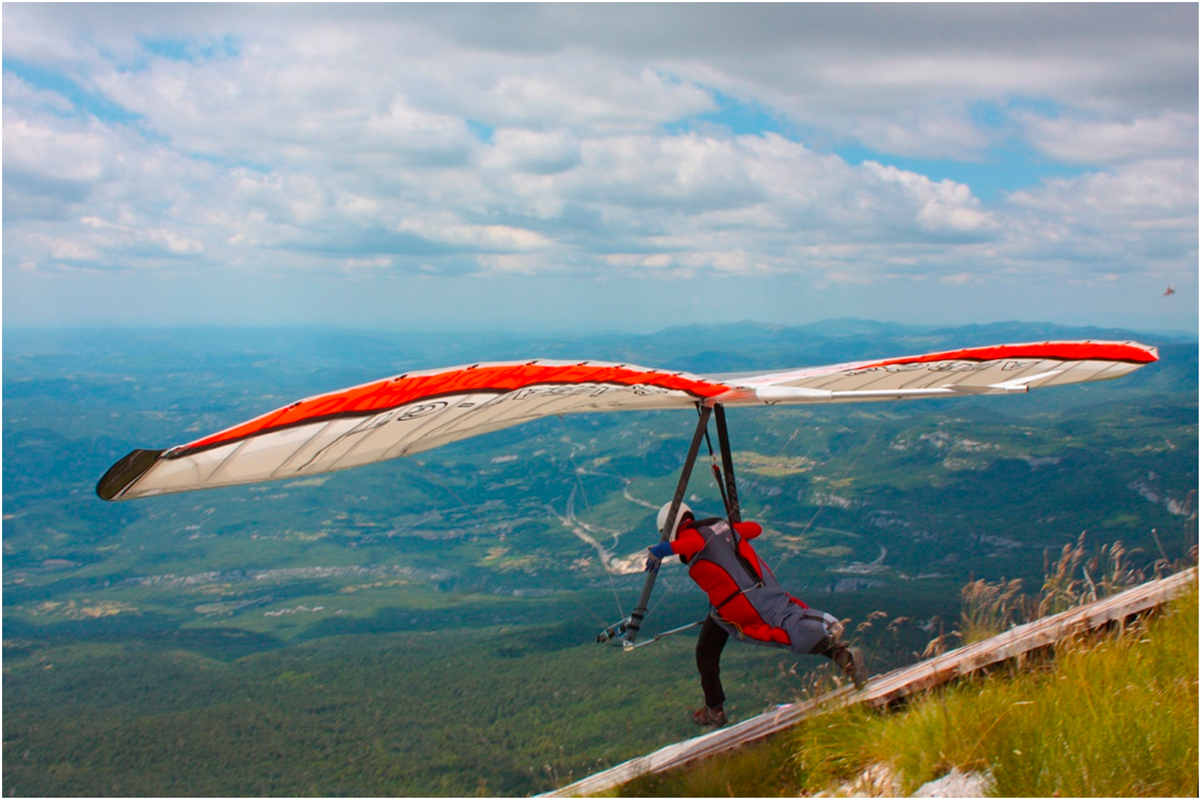 Hang gliding in Chattanooga, TN